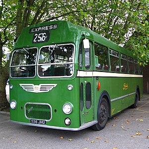 Bristol MW - A Bristol MW with standard ECW bus bodywork