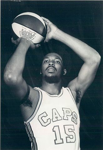 Warren Jabali - Jabali as a member of the Washington Caps during the 1969–70 season.