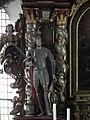 Warstein, Alte Kirche St. Pankratius 07-Statue of saint.JPG