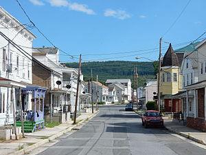 Middleport, Pennsylvania - Main Street in Middleport.