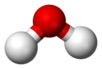 Chemical compound - Image: Water 3D balls