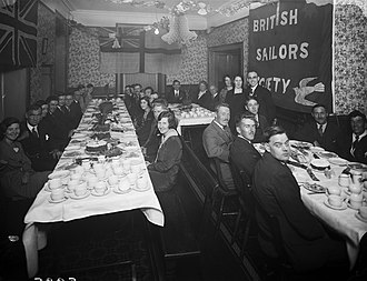 Sailors' Society - Christmas festivities at Waterford's Sailors' Rest, 1931. Waterford, Ireland