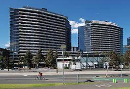 Watergate Place Docklands Melbourne 2005