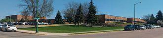Watertown High School (South Dakota) - Watertown High School from Arrow Ave.