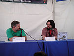 File:WeHo Book Fair 2010 - Joshua Dysart interviews Mouse Guard creator David Petersen (5028032513).jpg