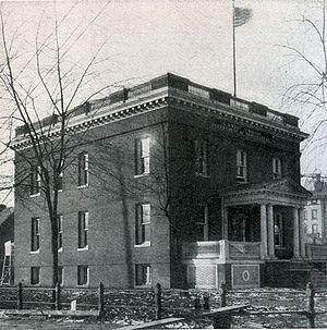 National Weather Service Lincoln, Illinois - The U.S. Weather Bureau Office at 7th and Monroe in Springfield.