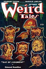 Weird Tales cover image for September 1946