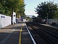 Welling station look east.JPG