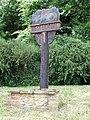 West Lexham village sign - geograph.org.uk - 890480.jpg