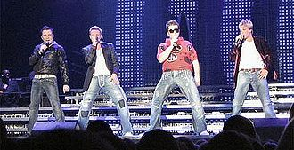 Westlife - The band on their 2006 concert tour