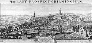 Birmingham - Birmingham in 1732