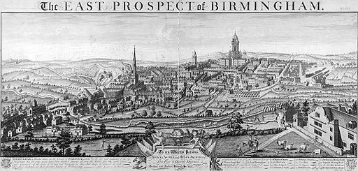 Westley---East-Prospect-of-Birmingham-1732