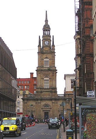 St George's Tron Church - Image: Wfm tron church glasgow