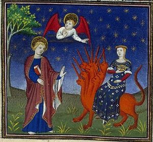 Whore of Babylon (french illuminated