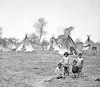 Wichita people - Wichita camp, 1904
