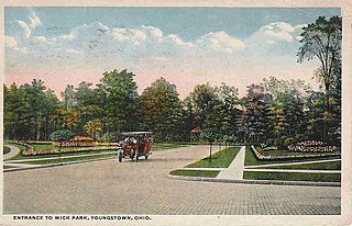 Wick Park Historic District United States historic place