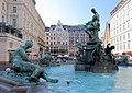 Wien - Donnerbrunnen, Quellnymphe.JPG