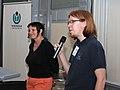 Wikiconference 2013 Prague, Jitka Erbenová and Jan Groh.jpg
