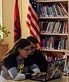 Wikimedians of Albanian Language User Group - Wikidata Birthday Celebration 2018 (8).jpg