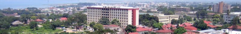 A view of Bujumbura, Burundi