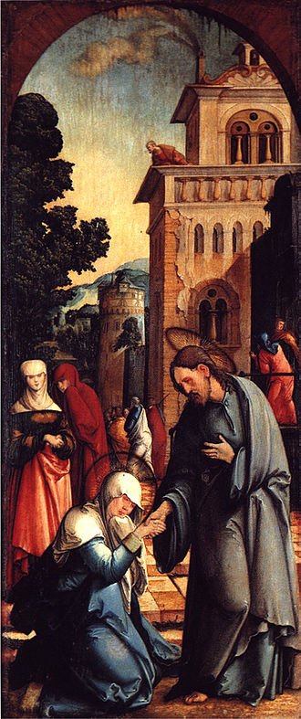 Christ taking leave of his Mother - Christ taking leave of his Mother, Germany, 1536