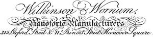 Robert Wornum - Image: Wilkinsonand Wornumca 1811