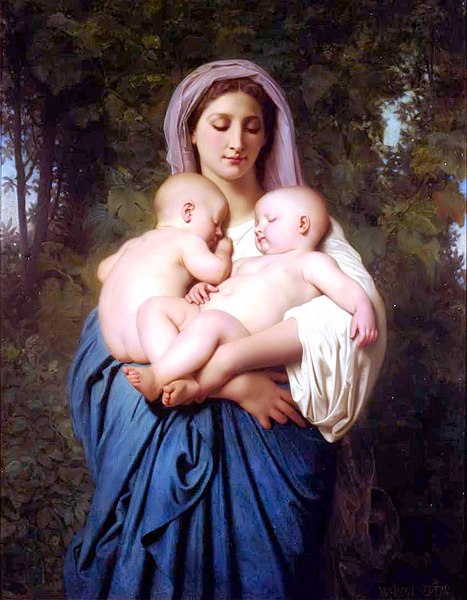 File:William-Adolphe Bouguereau (1825-1905) - Charity (1859).jpg