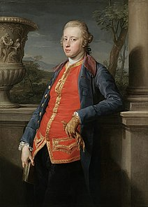 William Cavendish, V duca di Devonshire in un ritratto di Pompeo Batoni