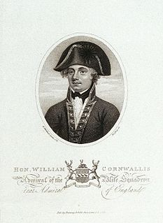William Cornwallis Royal Navy admiral