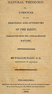 <i>Natural Theology or Evidences of the Existence and Attributes of the Deity</i> book by William Paley