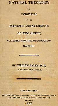 William Paley Natural Theology or Evidences of the Existence and Attributes of the Deity Title Page 1802.jpg