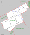 Willowdale (2003 federal riding map).png