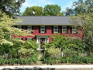Zachariah Richardson House - Image: Winchester MA Zachariah Richardson House