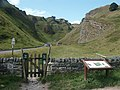 Winnats Pass from Speedwell Cavern car park - geograph.org.uk - 229319.jpg