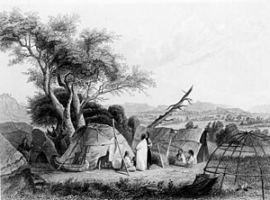 Ho-Chunk - Winnebago family in 1852