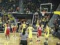 Wisconsin vs. Michigan women's basketball 2013 10 (first half action).jpg