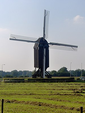 Usselo - The windmill Wissinks Möl