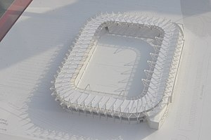 Stadion Widzewa - The project of the new stadium