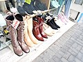 Woman shoes from local women fashion store at Jordan Hong Kong.jpg