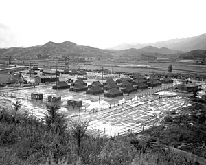 First and Second Battles of Wonju - Image: Wonju September 1951