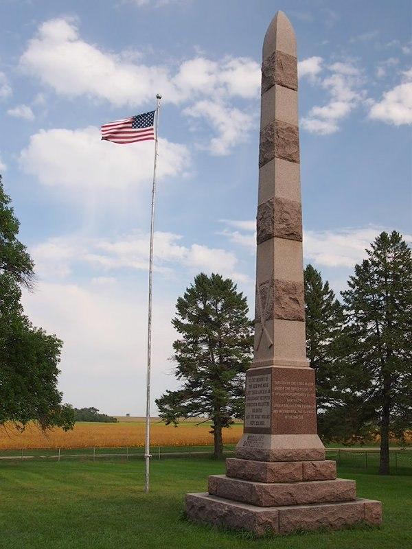 Wood Lake Monument