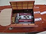 Wooden boat with Rolls Royce Merlin engine (36888921654).jpg