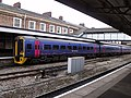 Worcester Shrub Hill Station - First Great Western 158955 (6365542933).jpg