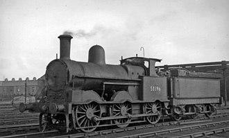LNWR 18in Goods Class - Image: Workington Locomotive Depot geograph 2806049 by Ben Brooksbank