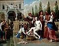 Workshop of Artemisia Gentileschi - Bathsheba at Her Bath, 1650s.jpg
