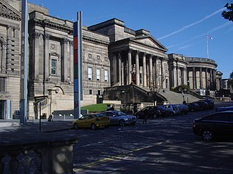 National Museums Liverpool - Image: World Museum Liverpool and Liverpool Central Library 161009