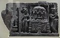 Worship of Relics - Loriyan Tangai - Gandhara - Indian Museum - Kolkata 2012-11-16 1895.JPG