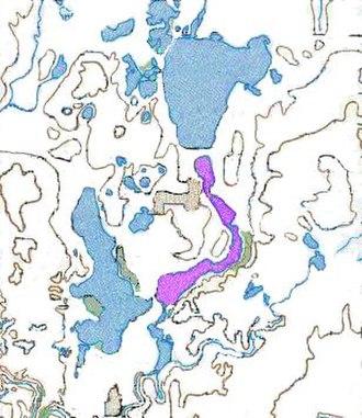 East Okoboji Lake - East Okoboji Lake, in the Iowa Great Lakes region.