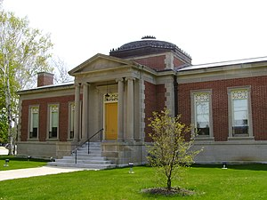 Wright Memorial Library - Image: Wright Memorial Library