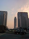 Wuhan CBD with Wuhan Center in the center.jpg
